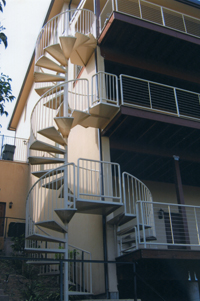 Borges spiral stairs