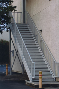 Roseville stairs