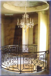 ironwork railings